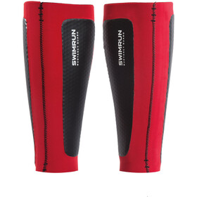Head Swimrun Air Cell Calf Sleeves black/red